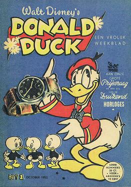 Eerte Donald Duck